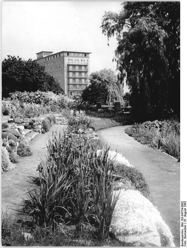 Garten Rostock file bundesarchiv bild 183 94734 0002 rostock botanischer garten