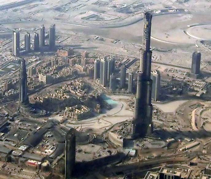 Burj Dubai es el edificio de hº mas alto del mundo