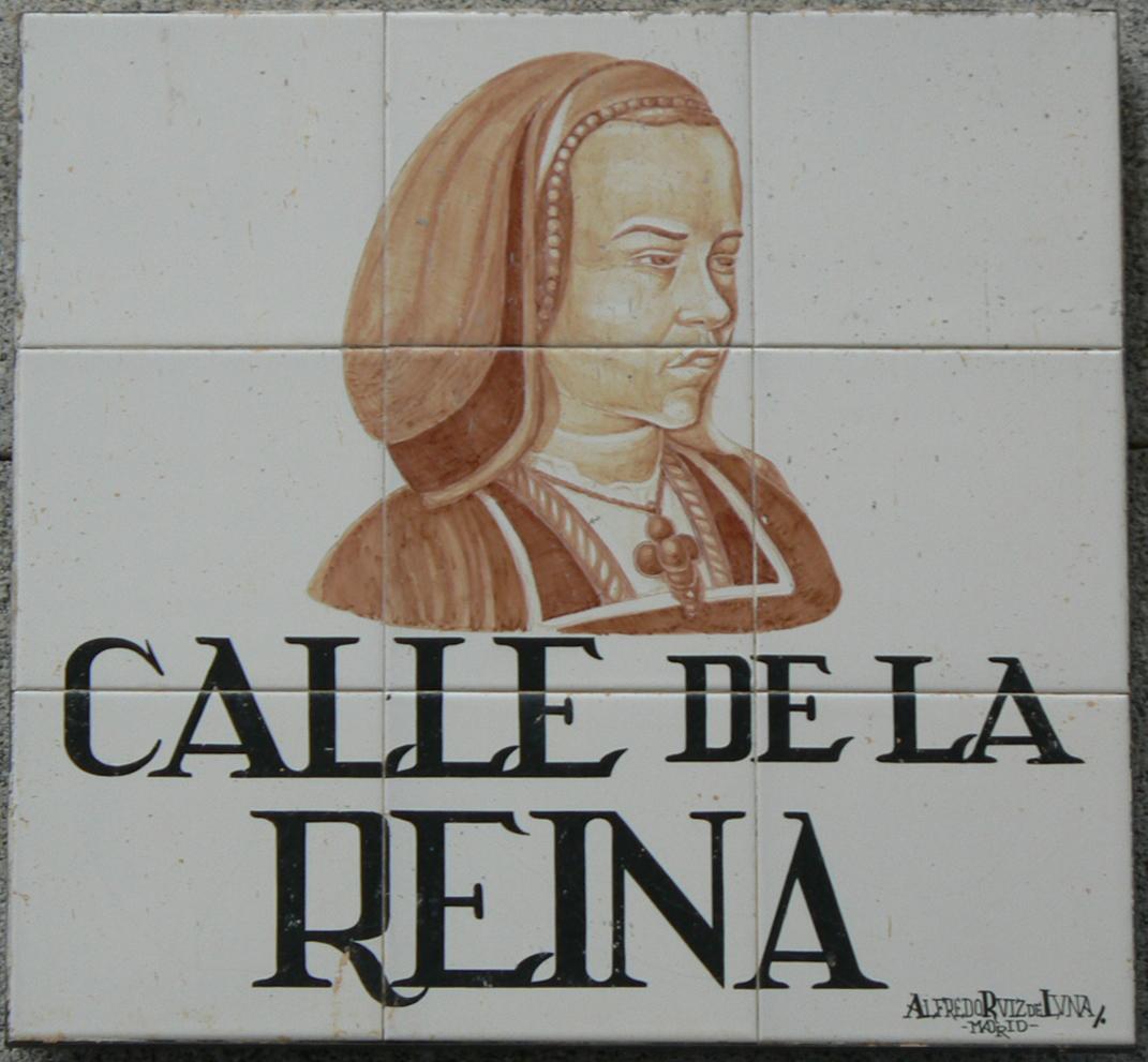 File Calle De La Reina Madrid Jpg Wikimedia Commons