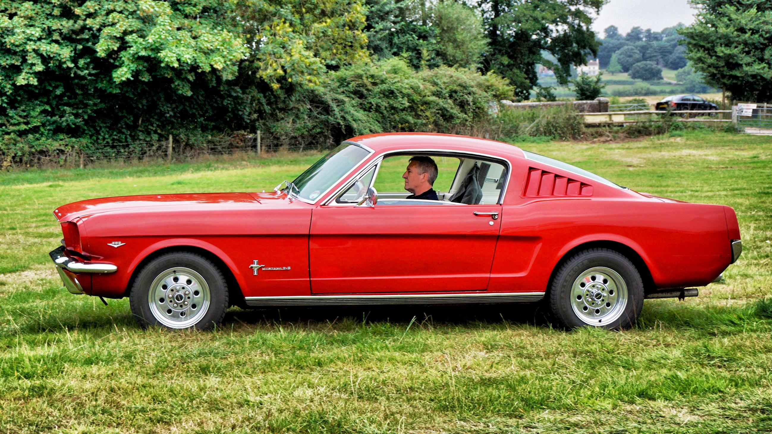 Mustang Mania Car Show