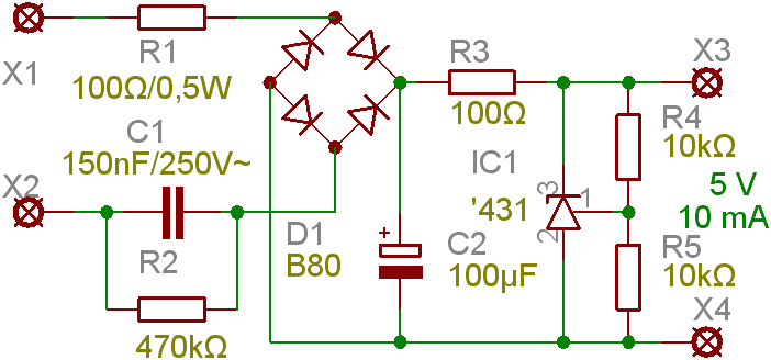 Capacitive Power Supply Wikipedia