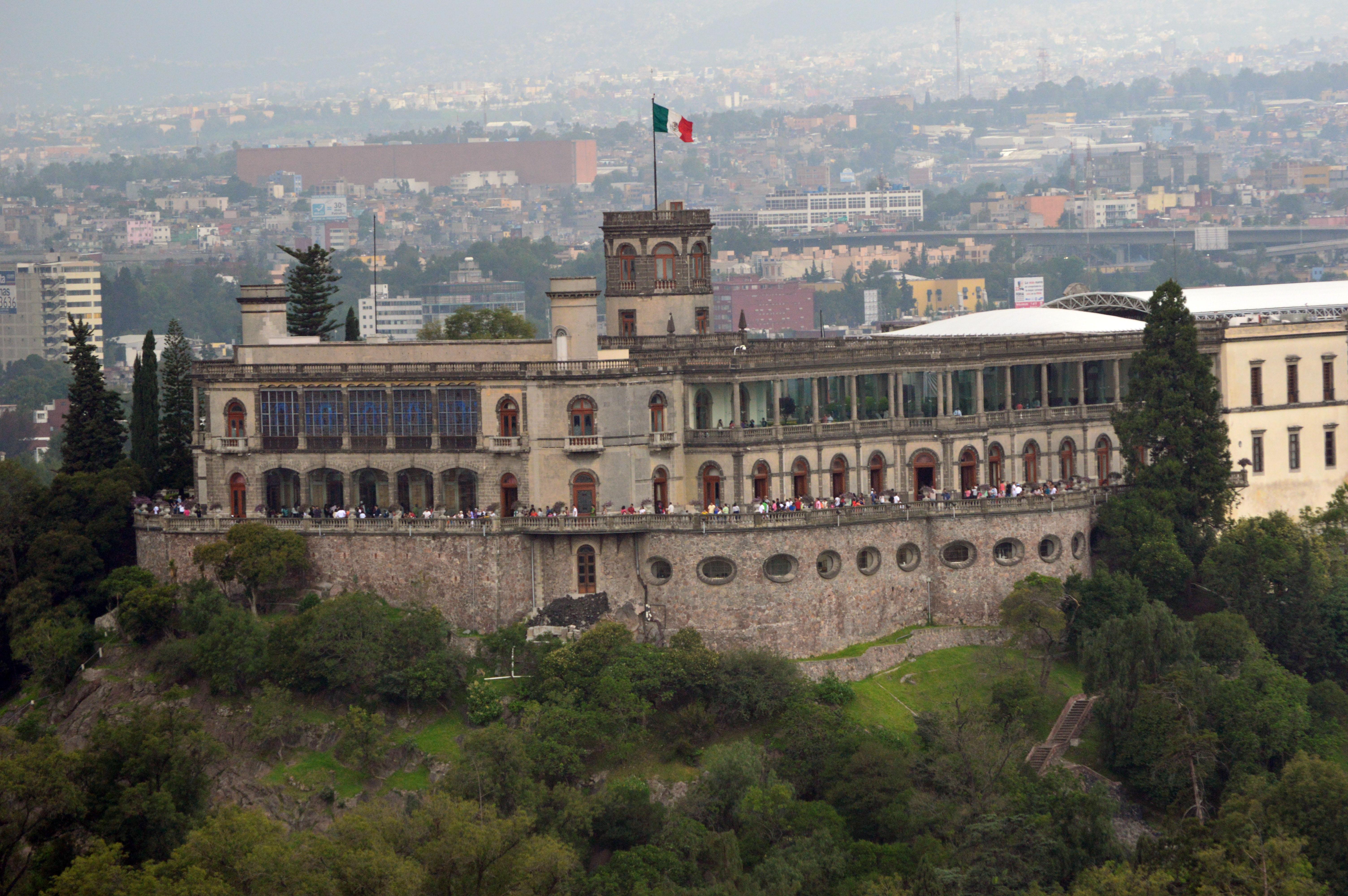 Castillo De Chapultepec Wikipedia La Enciclopedia Libre