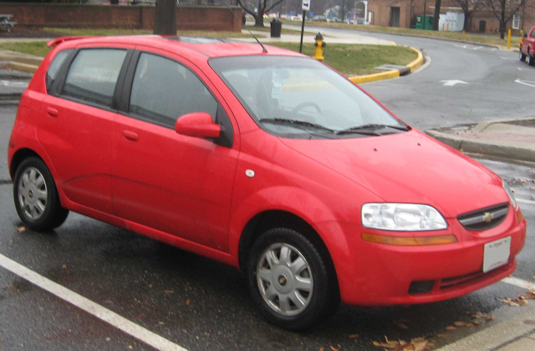FileChevrolet Aveo LT hatchjpg  Wikimedia Commons
