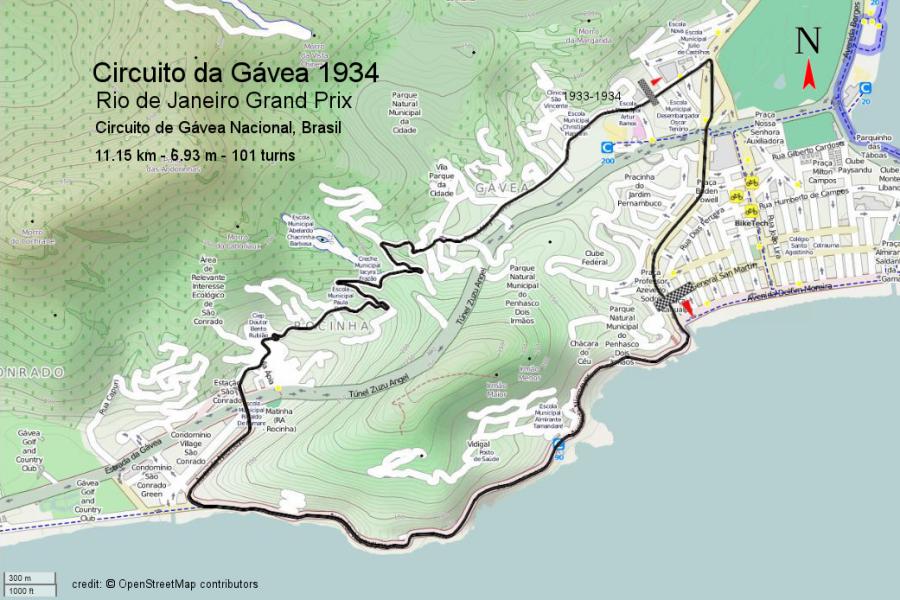 Circuito Da Gavea : Rio de janeiro grand prix wikipedia
