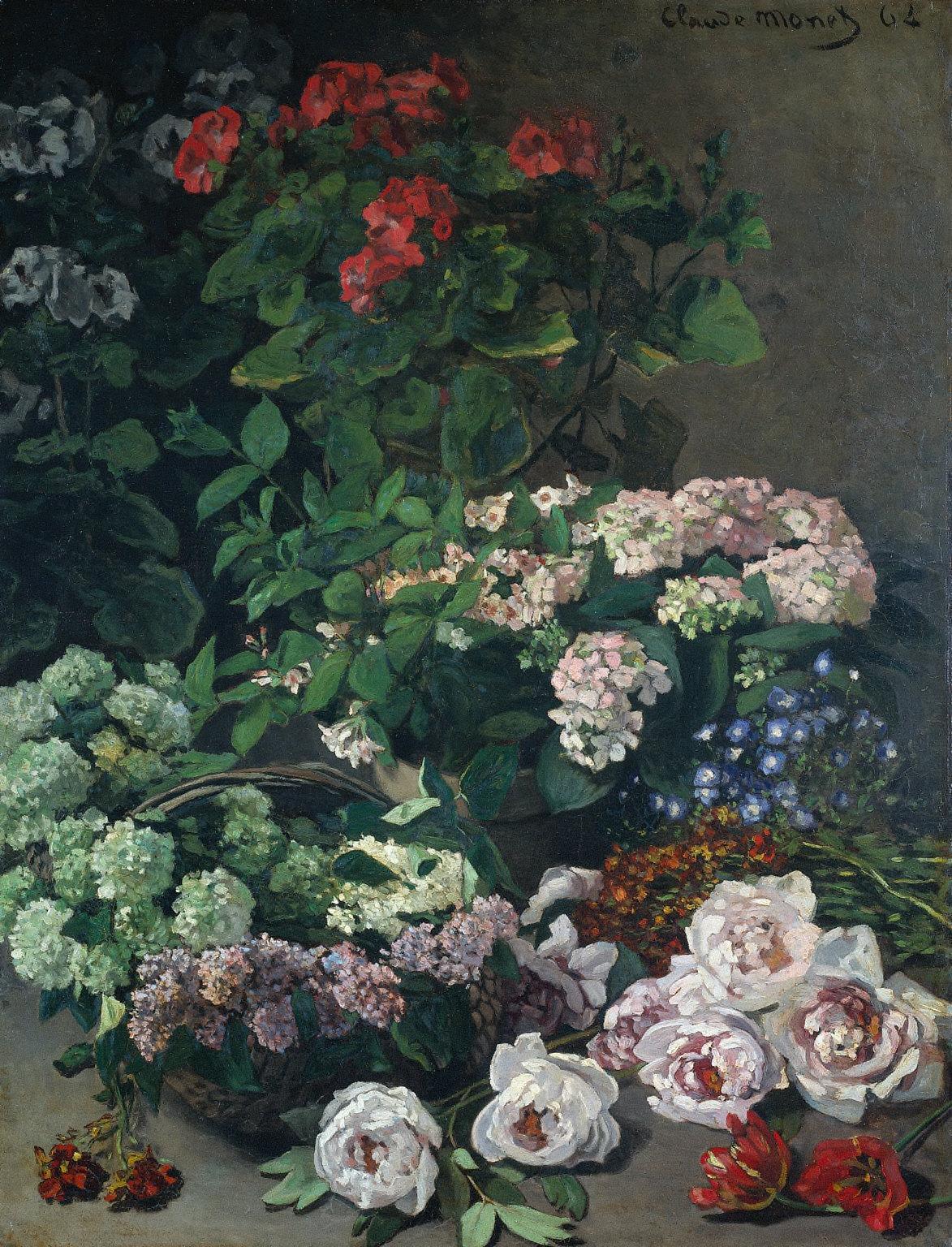 file claude monet fleurs de printemps 1864 jpg wikimedia commons. Black Bedroom Furniture Sets. Home Design Ideas