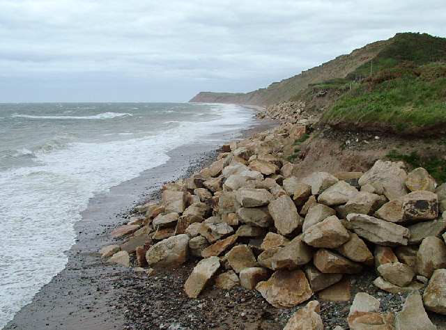 Jurby Beach Coastline at Glen Wyllin - Isle of Man - geograph.org.uk - 31458