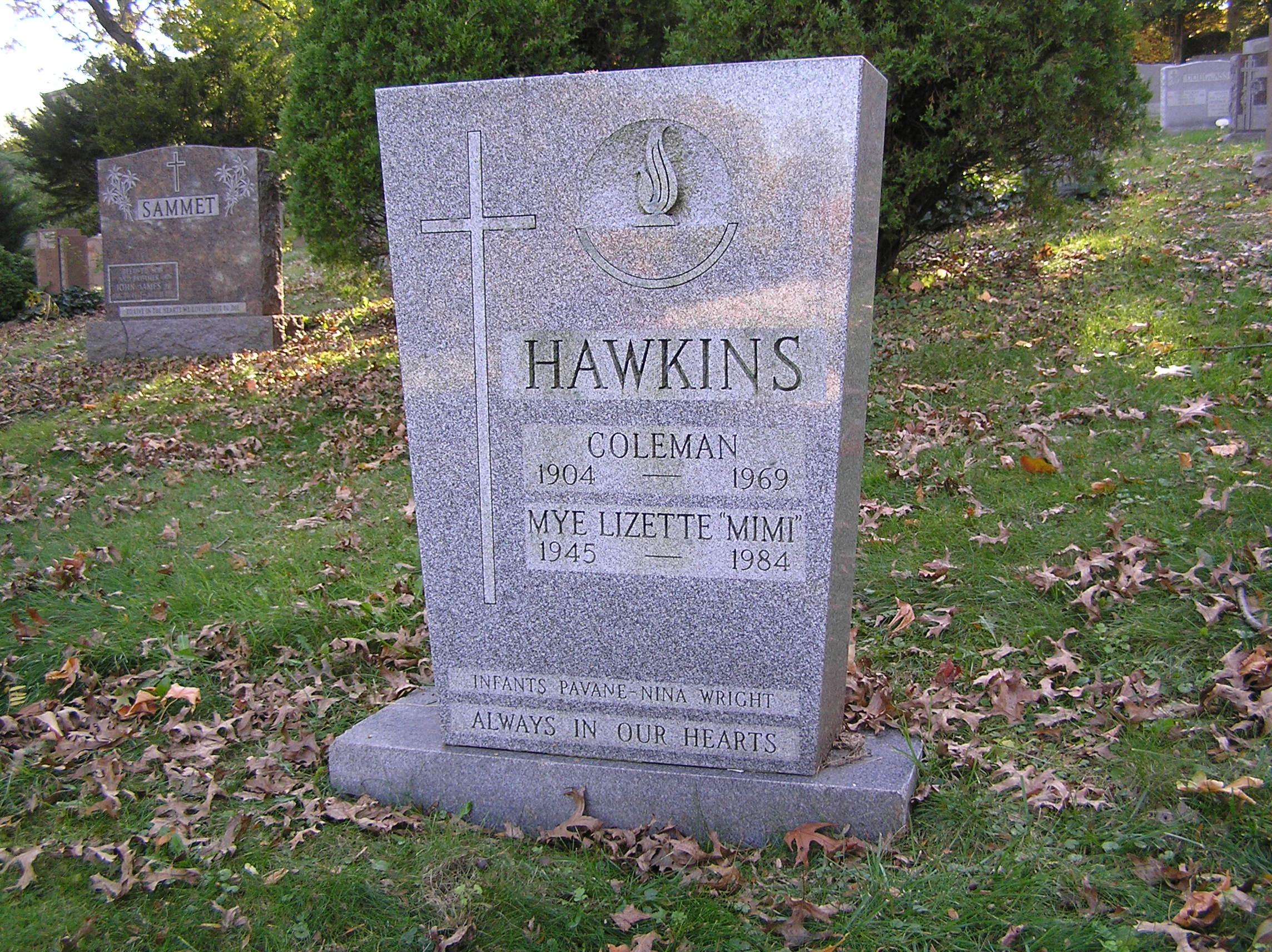 The Grave of Coleman Hawkins