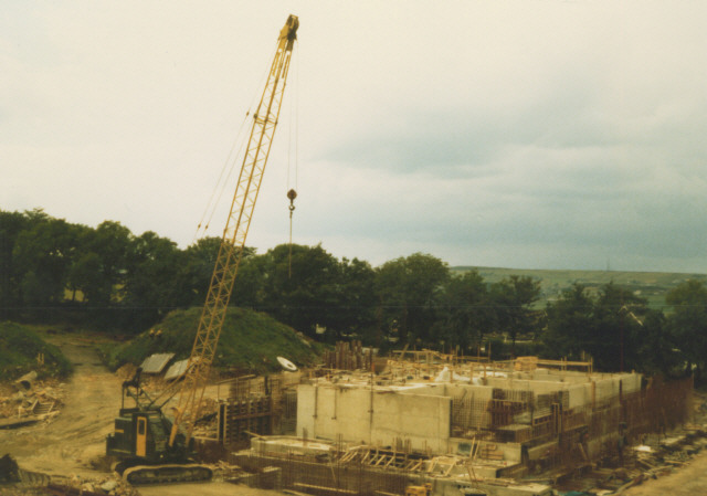 Constructing the new treatment works - geograph.org.uk - 203226