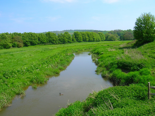 Cuckmere River, Alfriston - geograph.org.uk - 168799