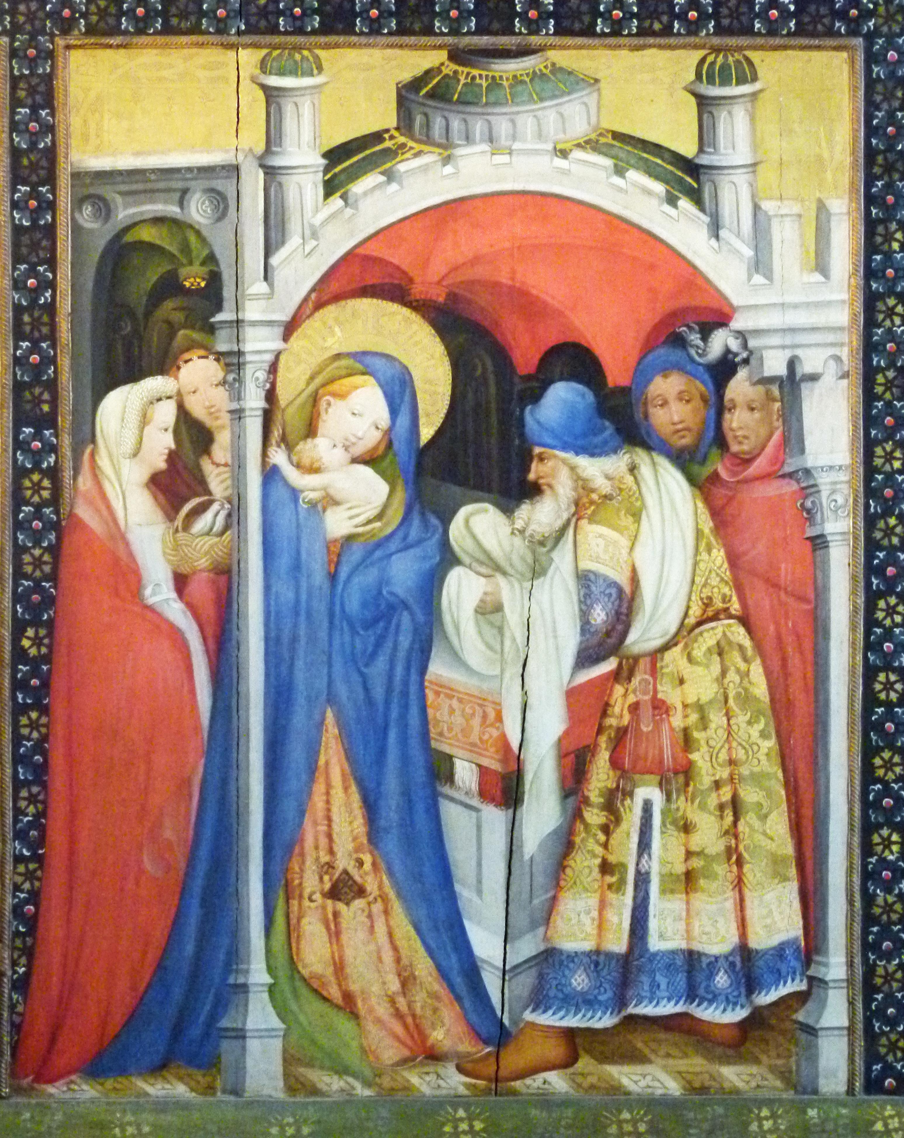 Fantastisch Malerseite Von Jesus Im Tempel Fotos ...
