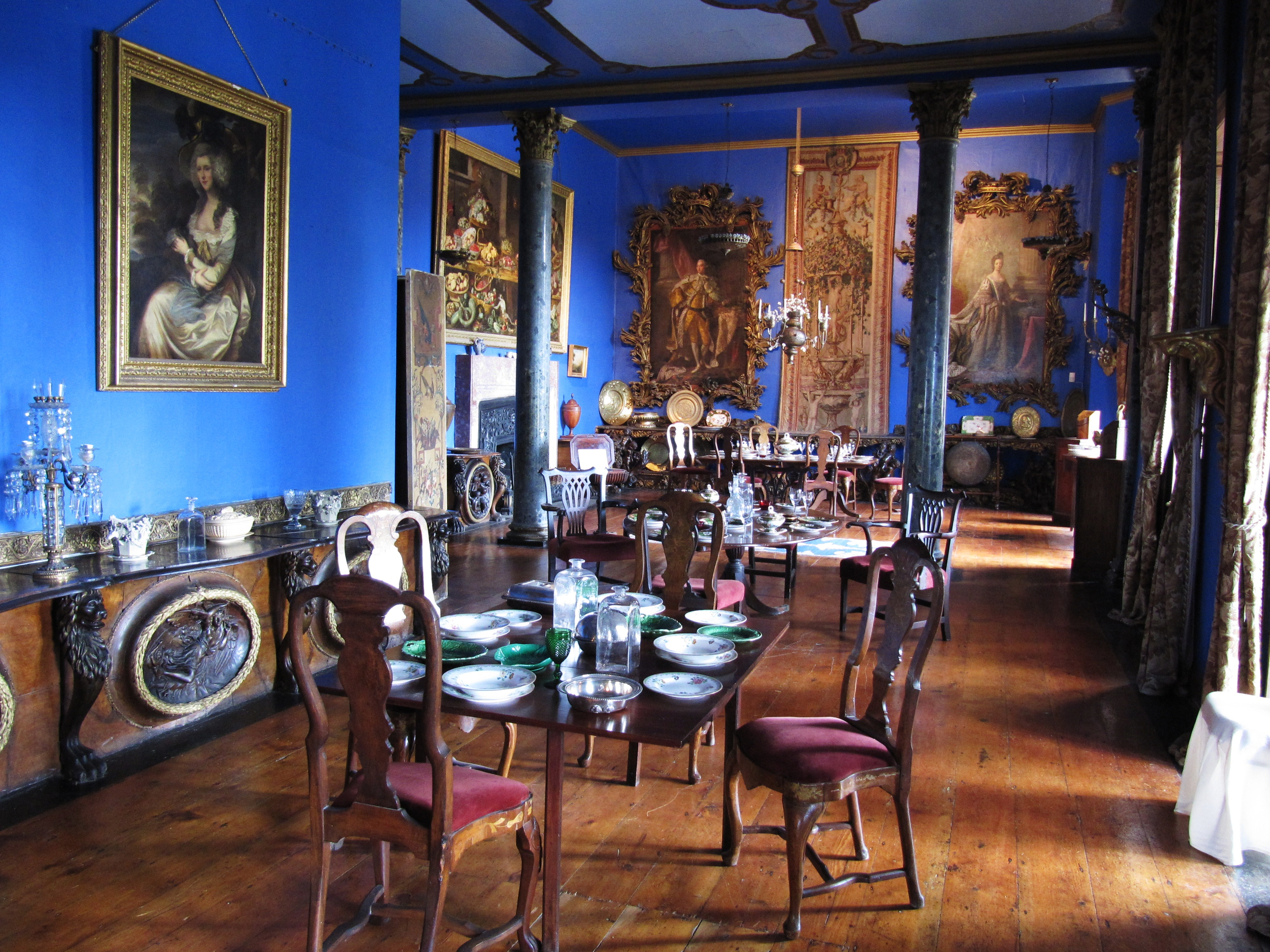 File dining room bantry house jpg wikimedia commons for Bantry house