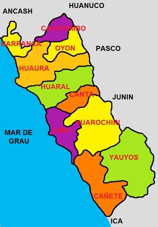 Resultado de imagen para region lima