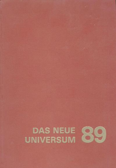Red book cover of volume 89 of _Das Neue Universum_
