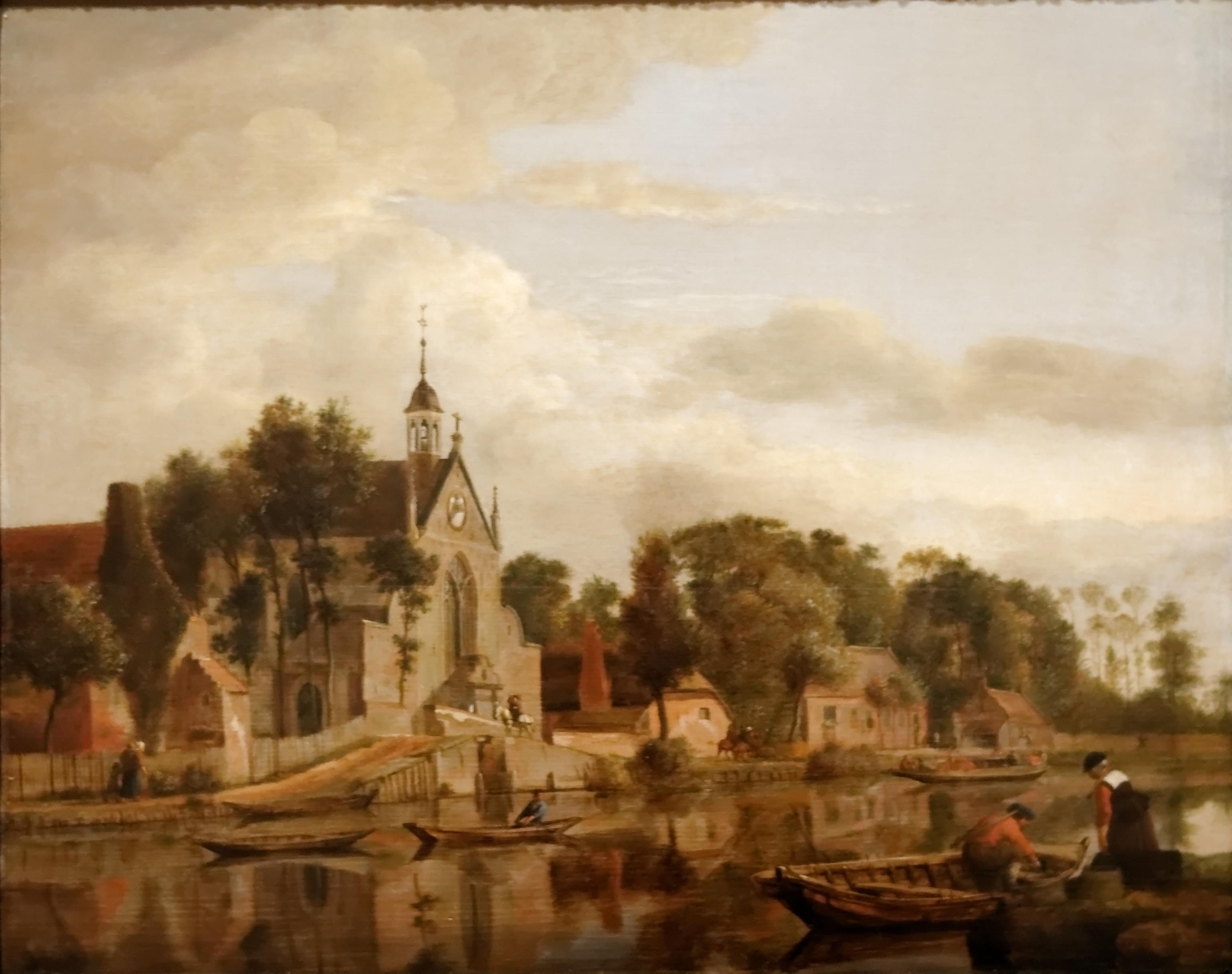 file dutch landscape jan van der heyden jpg wikimedia commons