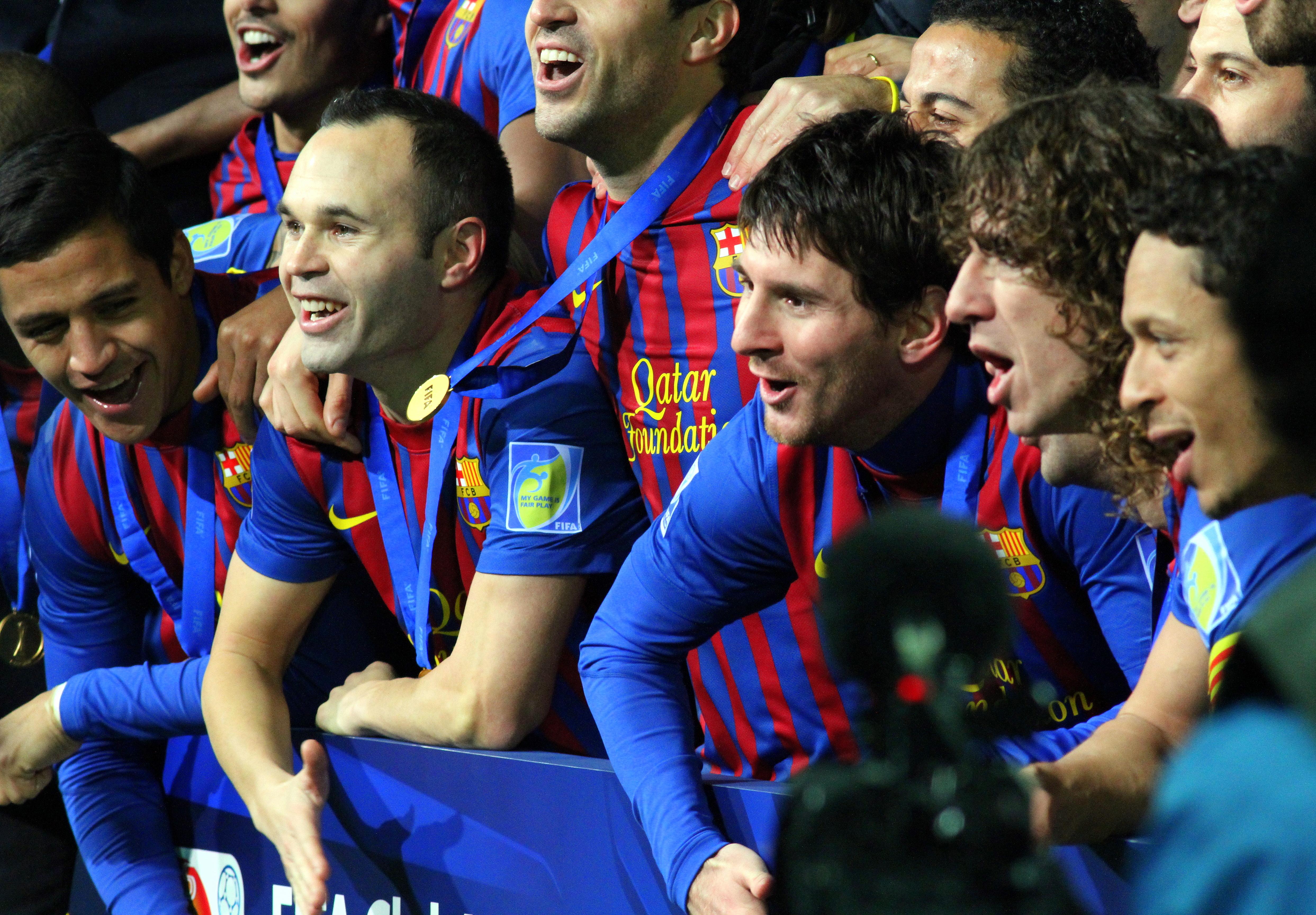 Barcelona Soccer Team Players