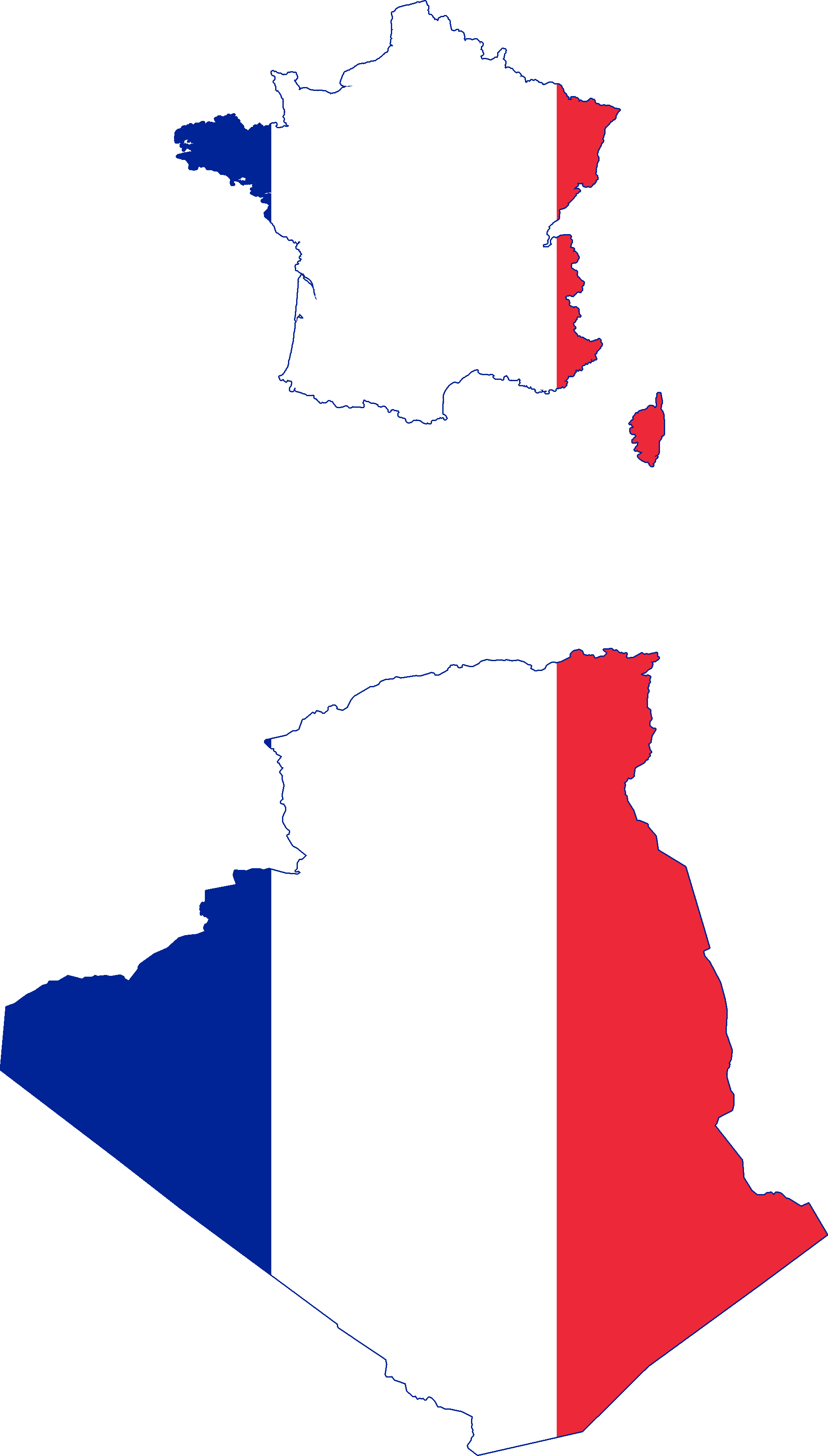 France Map Flag.File Flag Map Of France And Algeria 1848 1962 Png Wikimedia