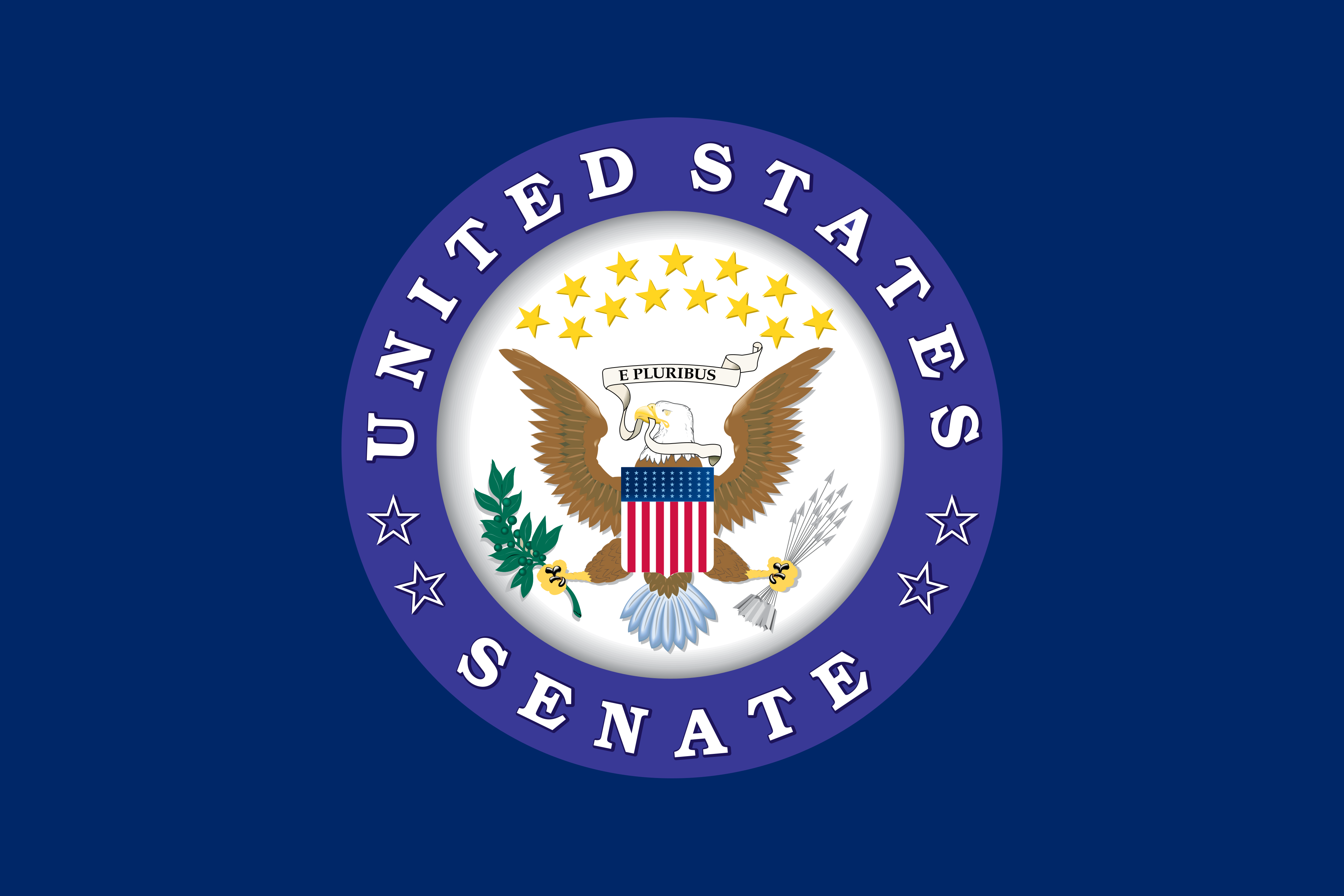 Fileflag Of The United States Senate Variantpng Wikimedia Commons