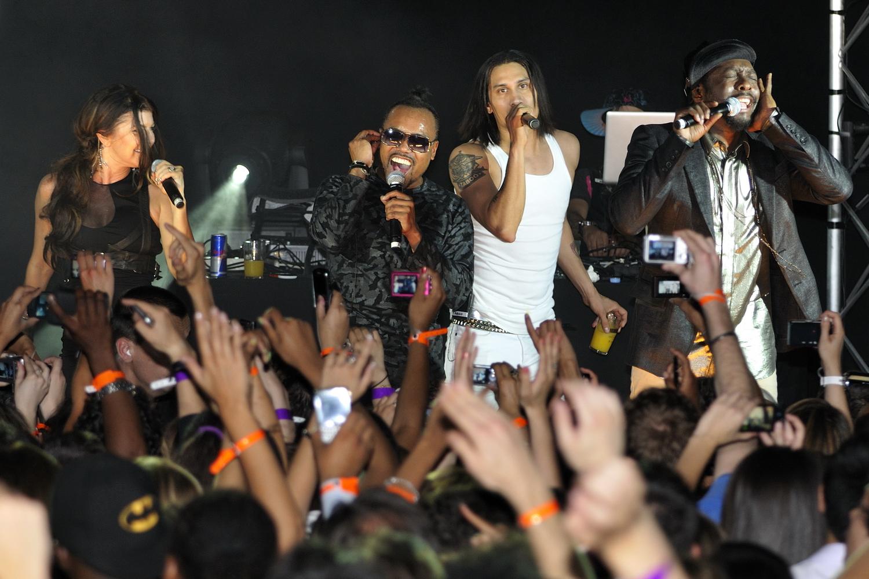 Black Eyed Peas Reservoir Dogs Sample