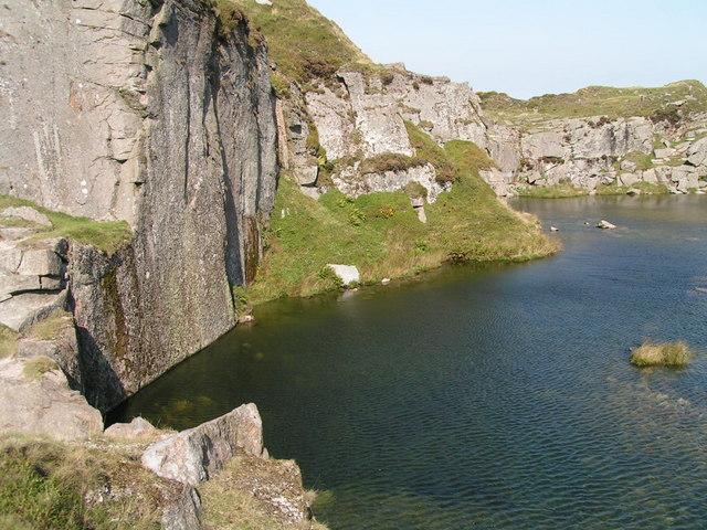 Foggintor Quarry - geograph.org.uk - 224168
