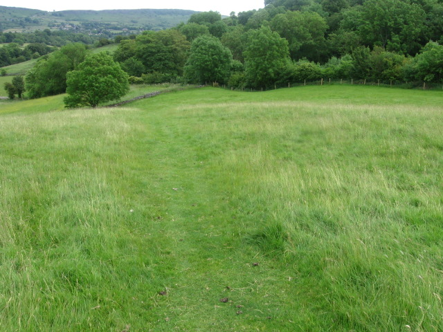 Footpath between Stoney Middleton and Calver - geograph.org.uk - 1365811