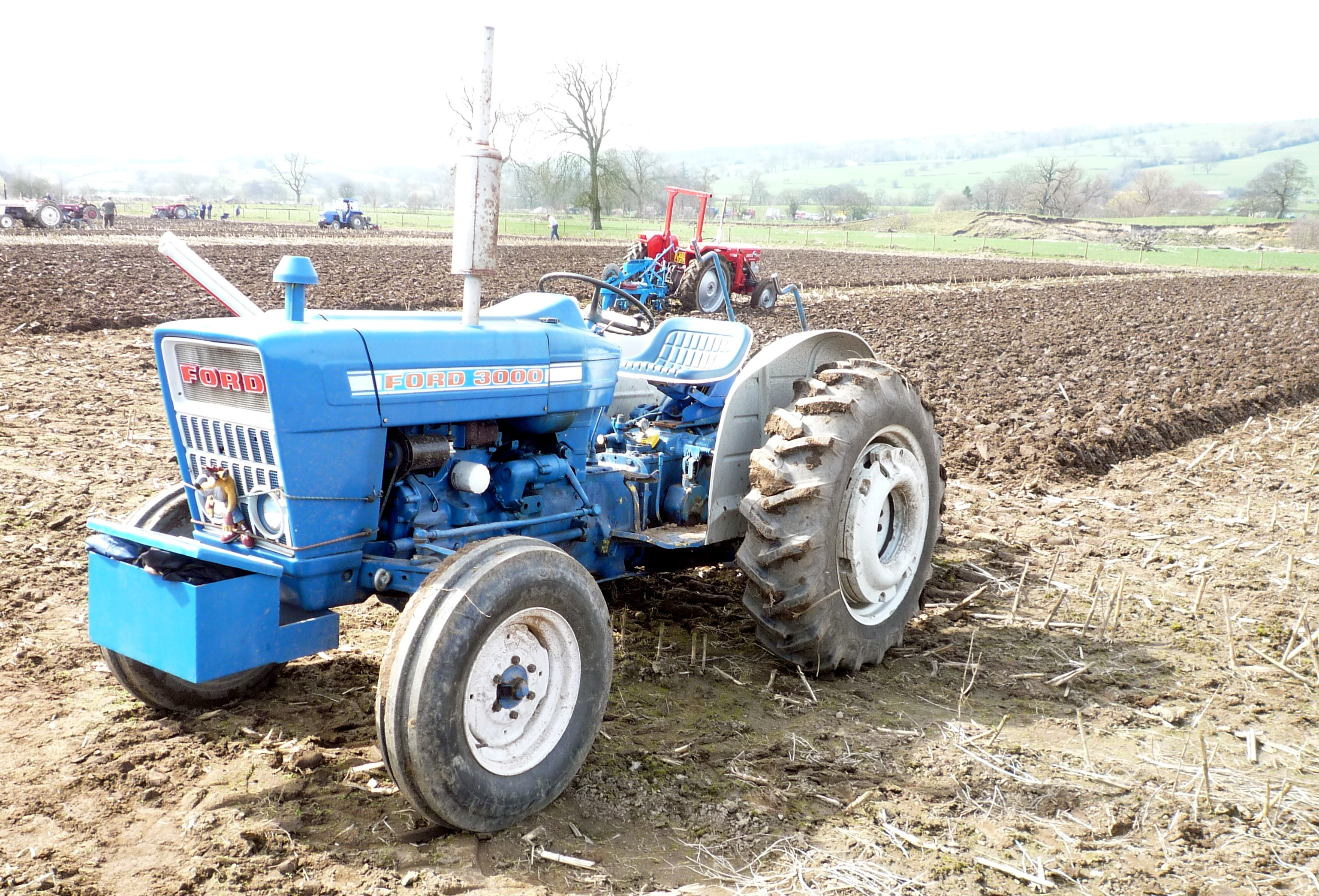 Ford 3000 Tractor Seat : Ford tractor  cars