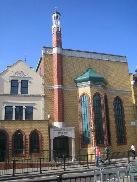 File:Forest Gate, Quww... Quwwat Ul Islam Mosque