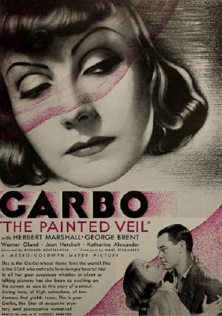 美國電影《面紗》(The Painted Veil)的電影海報。(公有領域)