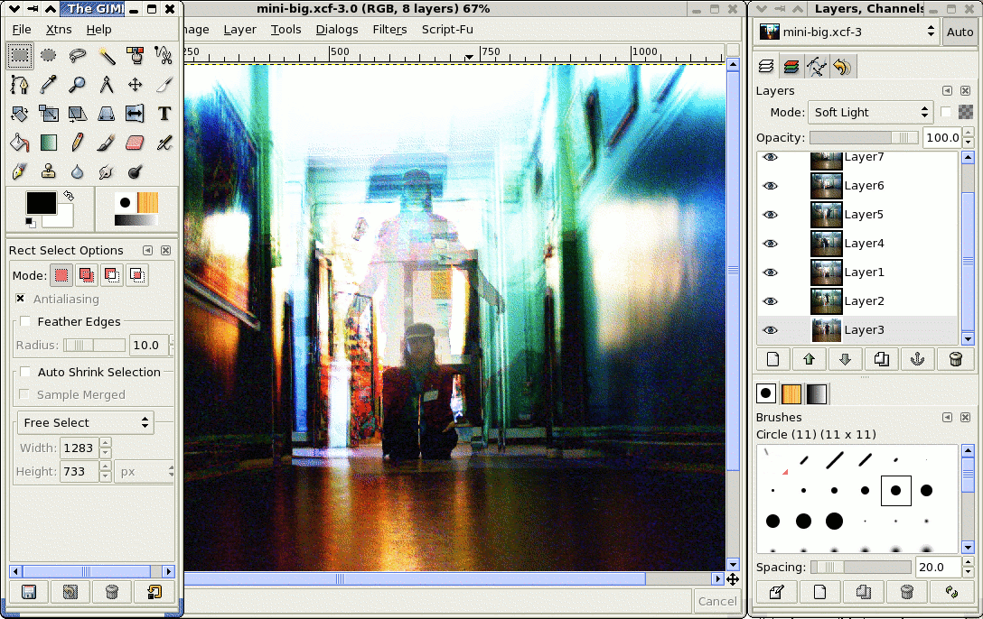 how to save as a pdf in gimp