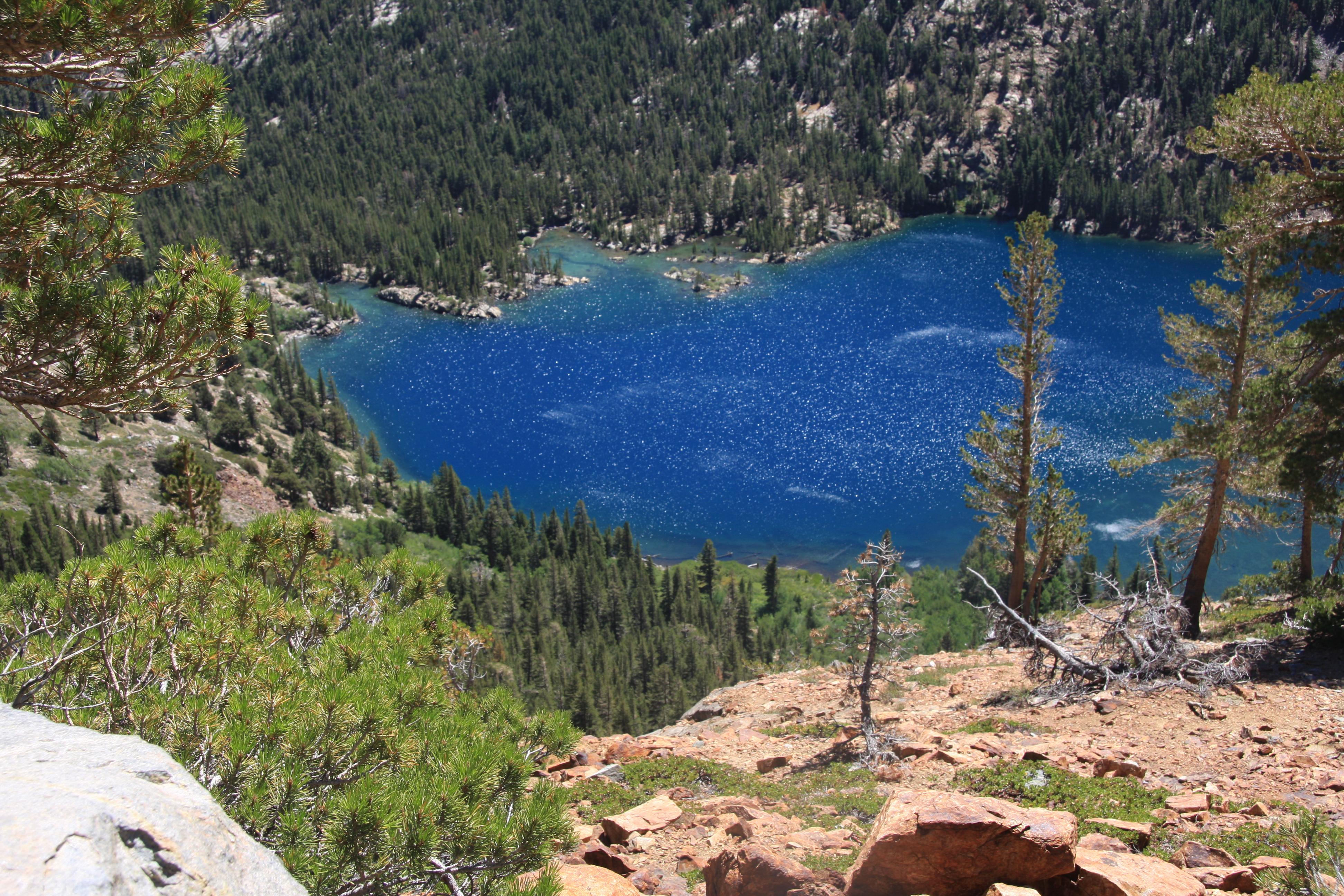 File:Green Lake from rim of West Lake jpg - Wikimedia Commons