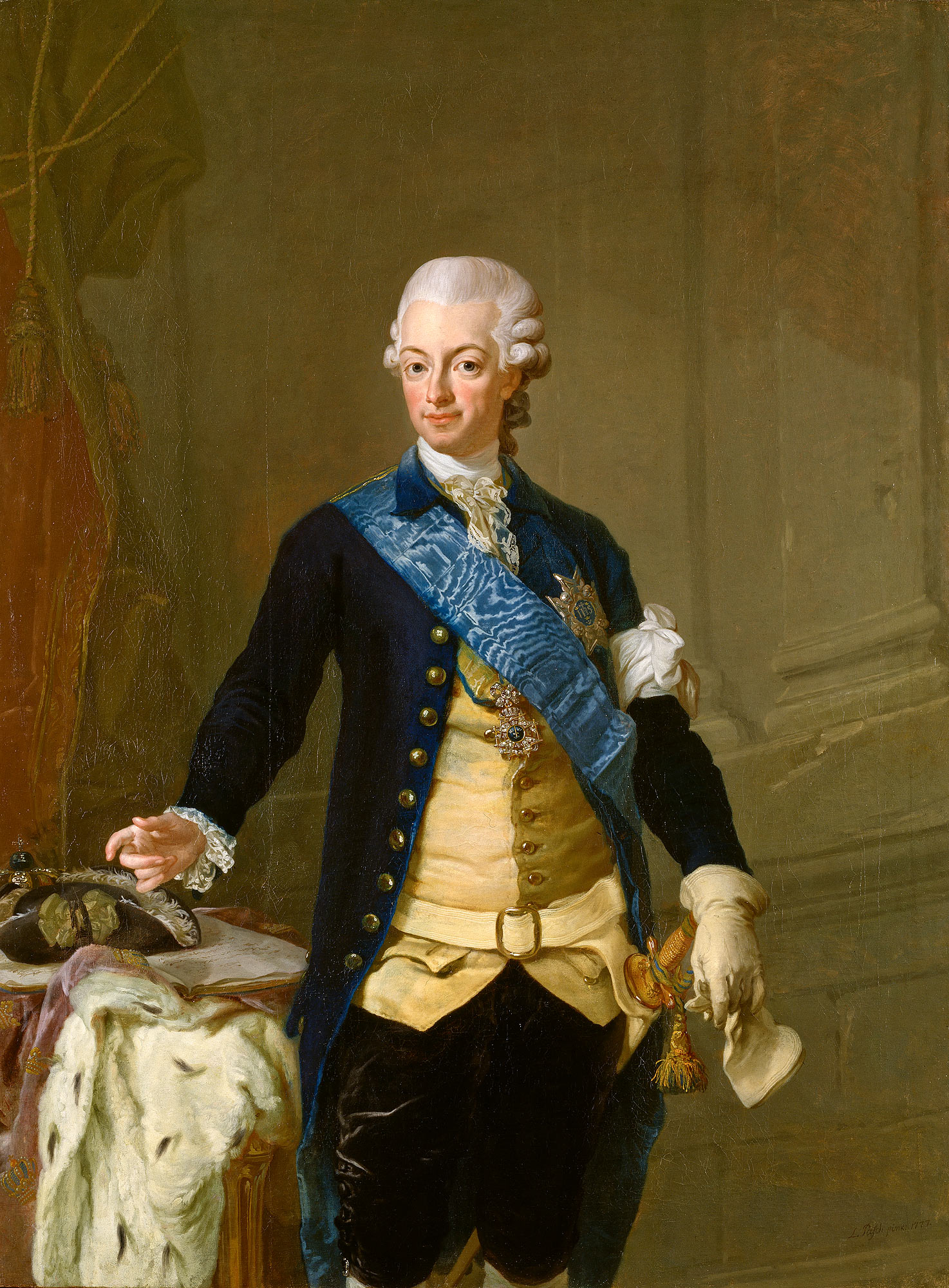 Gustav III Sweden, via Wikimedia Commons