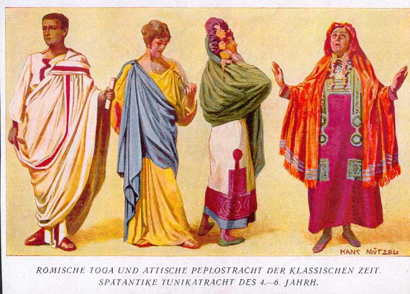 servizio eccellente nuovo stile la migliore vendita Abbigliamento nell'antica Roma - Wikipedia
