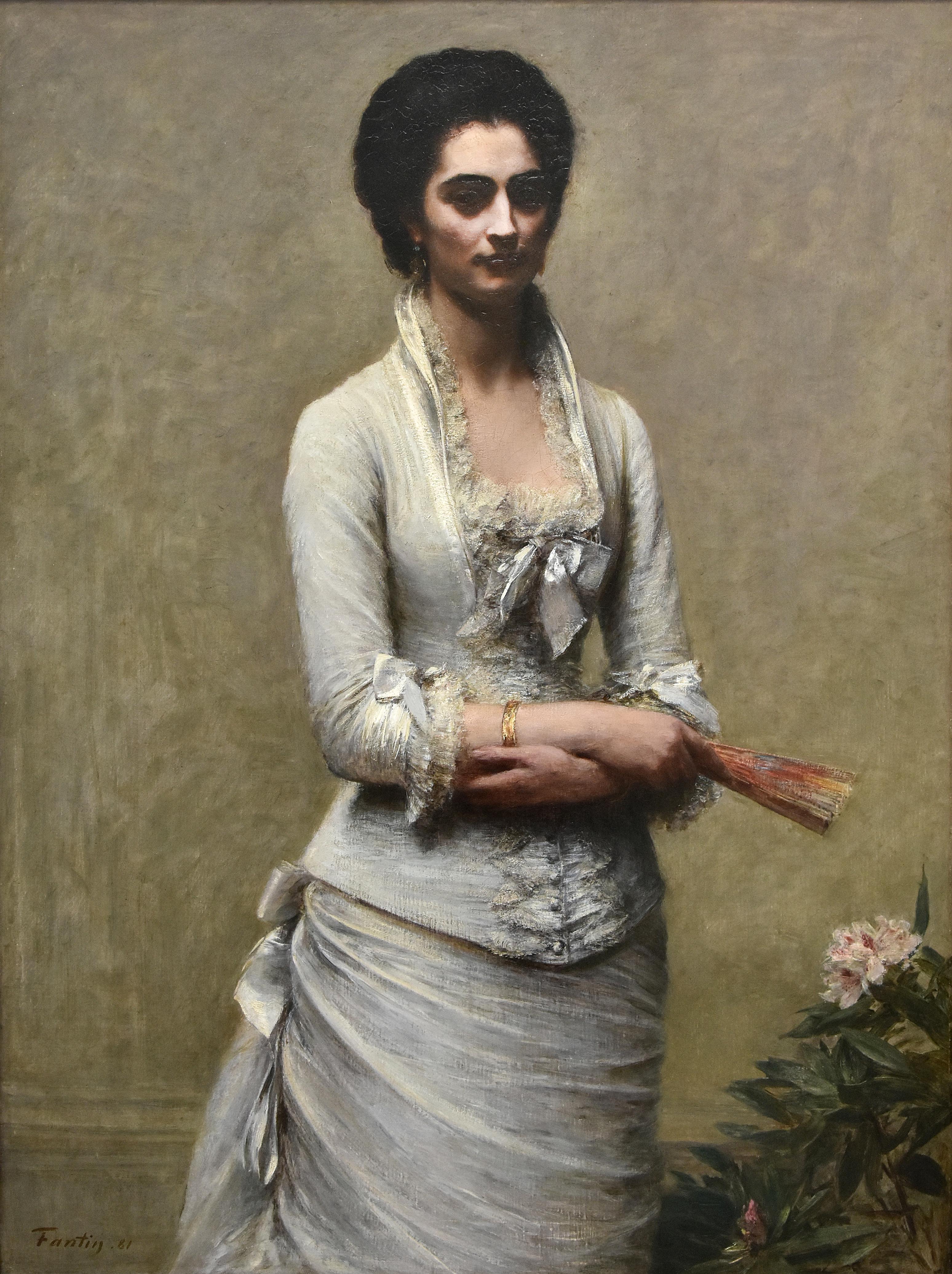 Henri Fantin-Latour, Portret of Eva Callimachi-Catargi