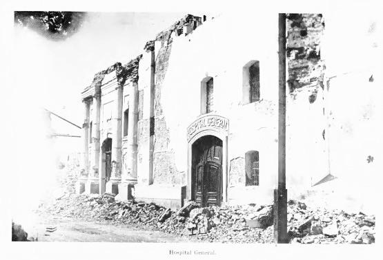 Hospital General en 1918