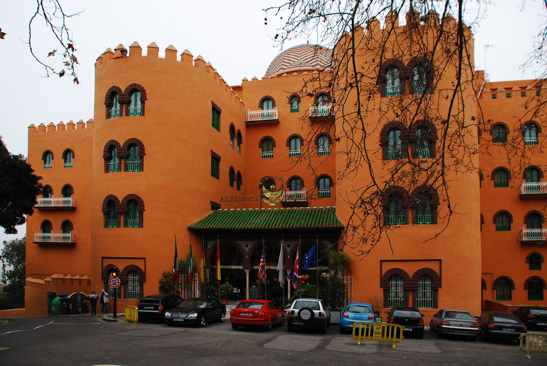 granada hotel alhambra: