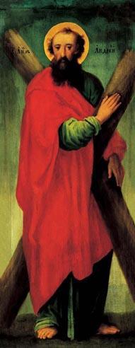 Icon 02100 Apostol Andrej. Konec XVIII v. Ukraina. Kievschina.jpg