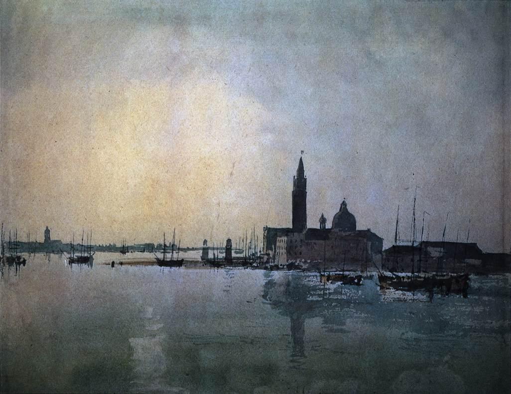 San Giorgio Maggiore (Venise) à l'aube de William Turner