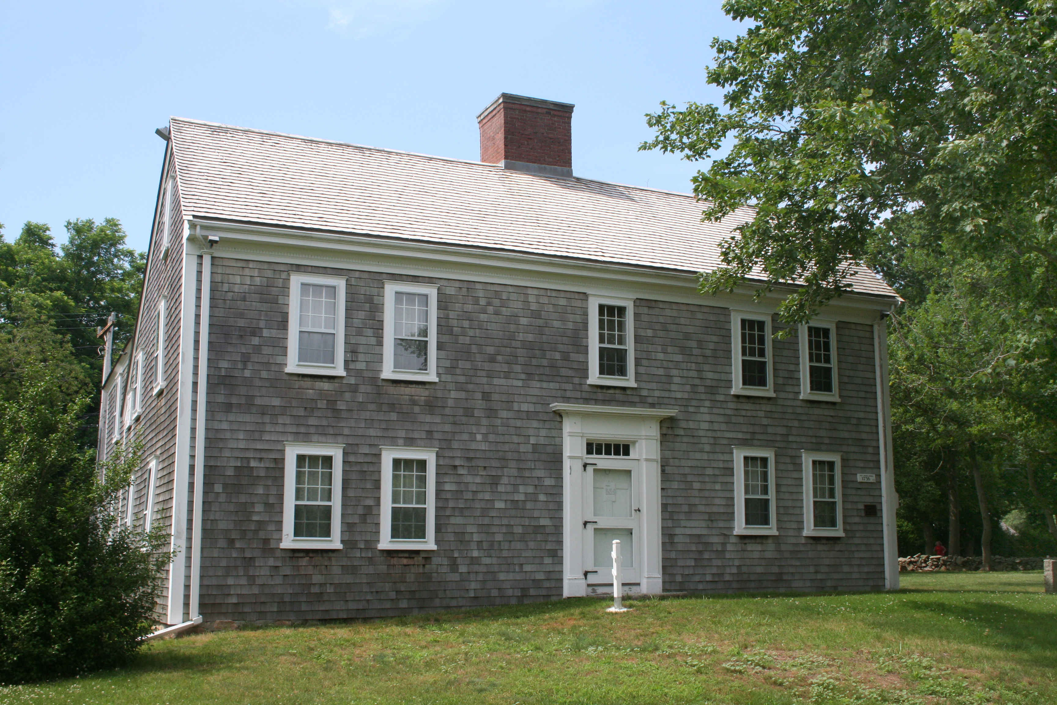 Colonial Revival House In Addition House Plans Colonial Style Homes