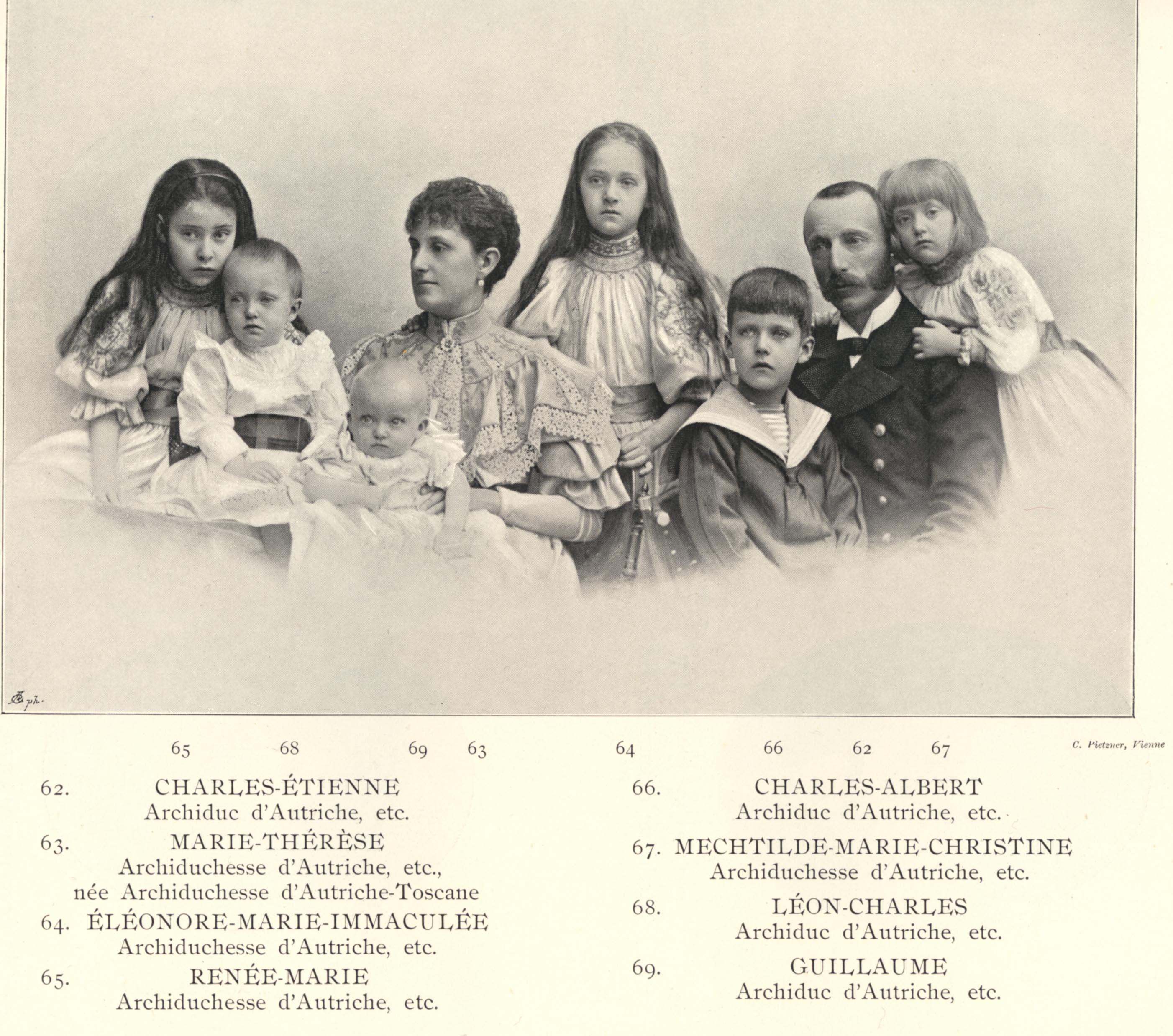Karl Stephan Austria 1860 1933 family1896
