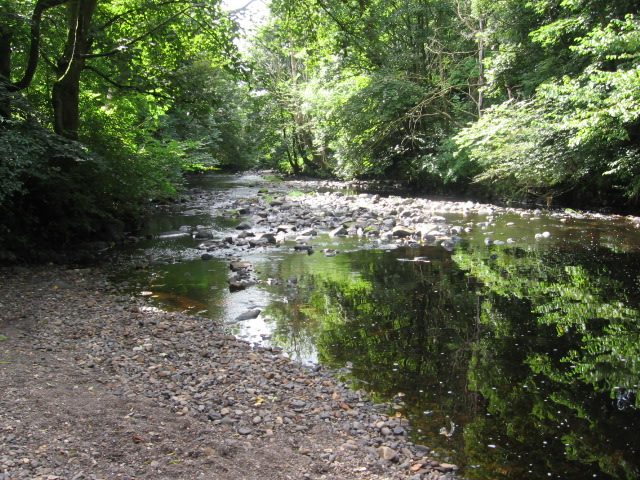 Kilmarnock Water at Dean Castle Country Park - geograph.org.uk - 549767