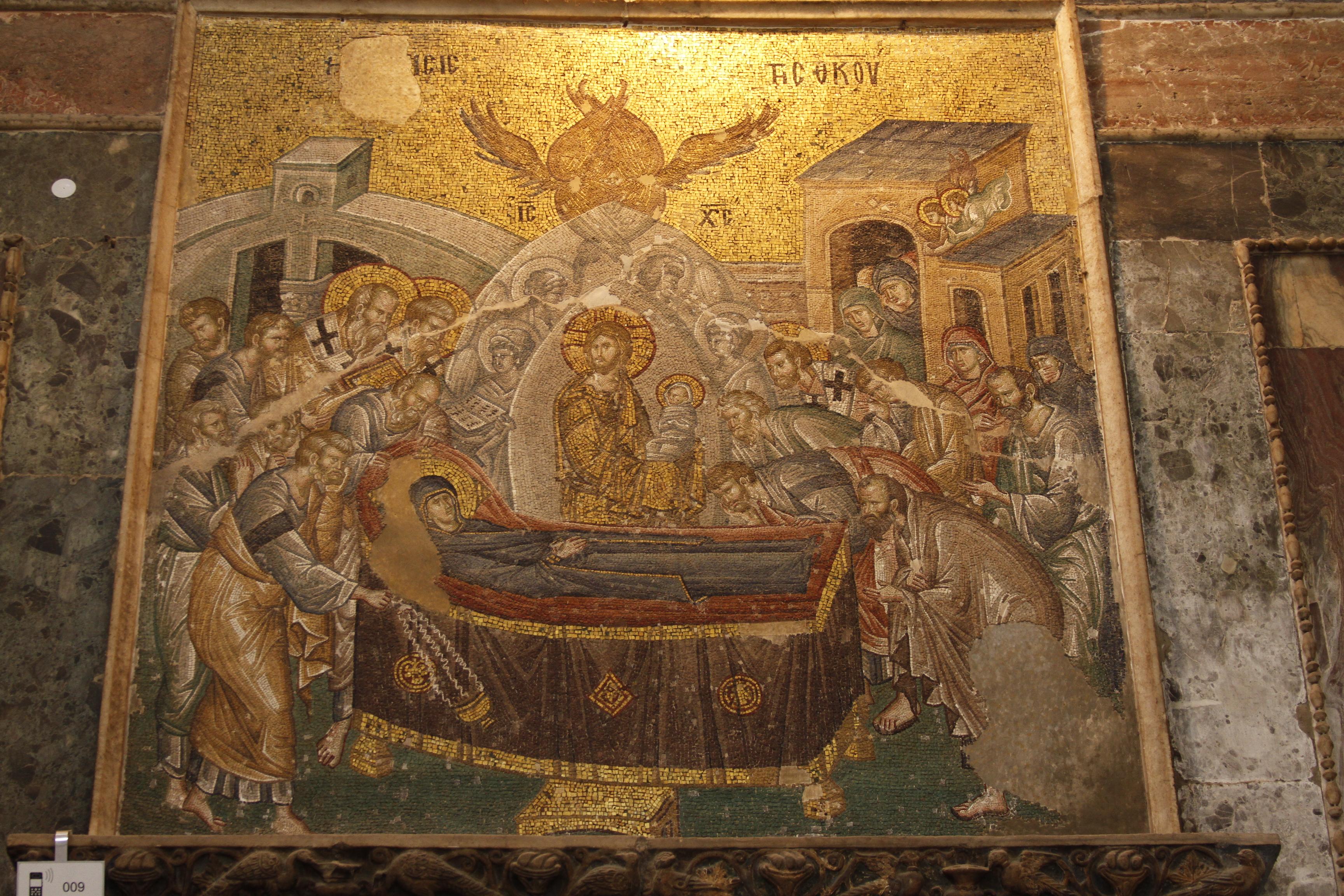 Chora Museum Mosaics File:koimesis Mosaic at Chora