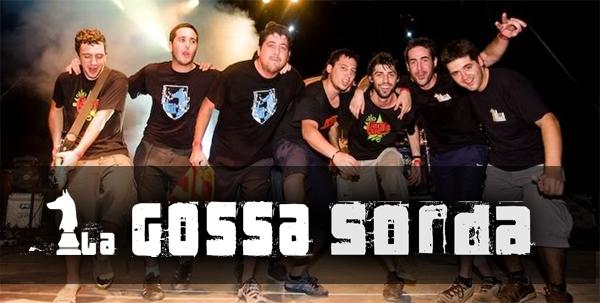 La Gossa Sorda después de un concierto.