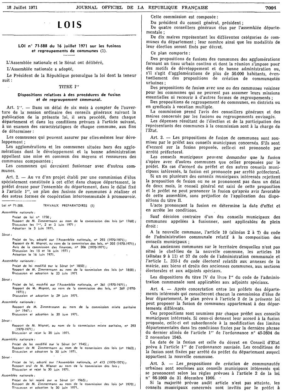 Loi sur les fusions et regroupements de communes wikip dia for Loi sur le ramonage des cheminees