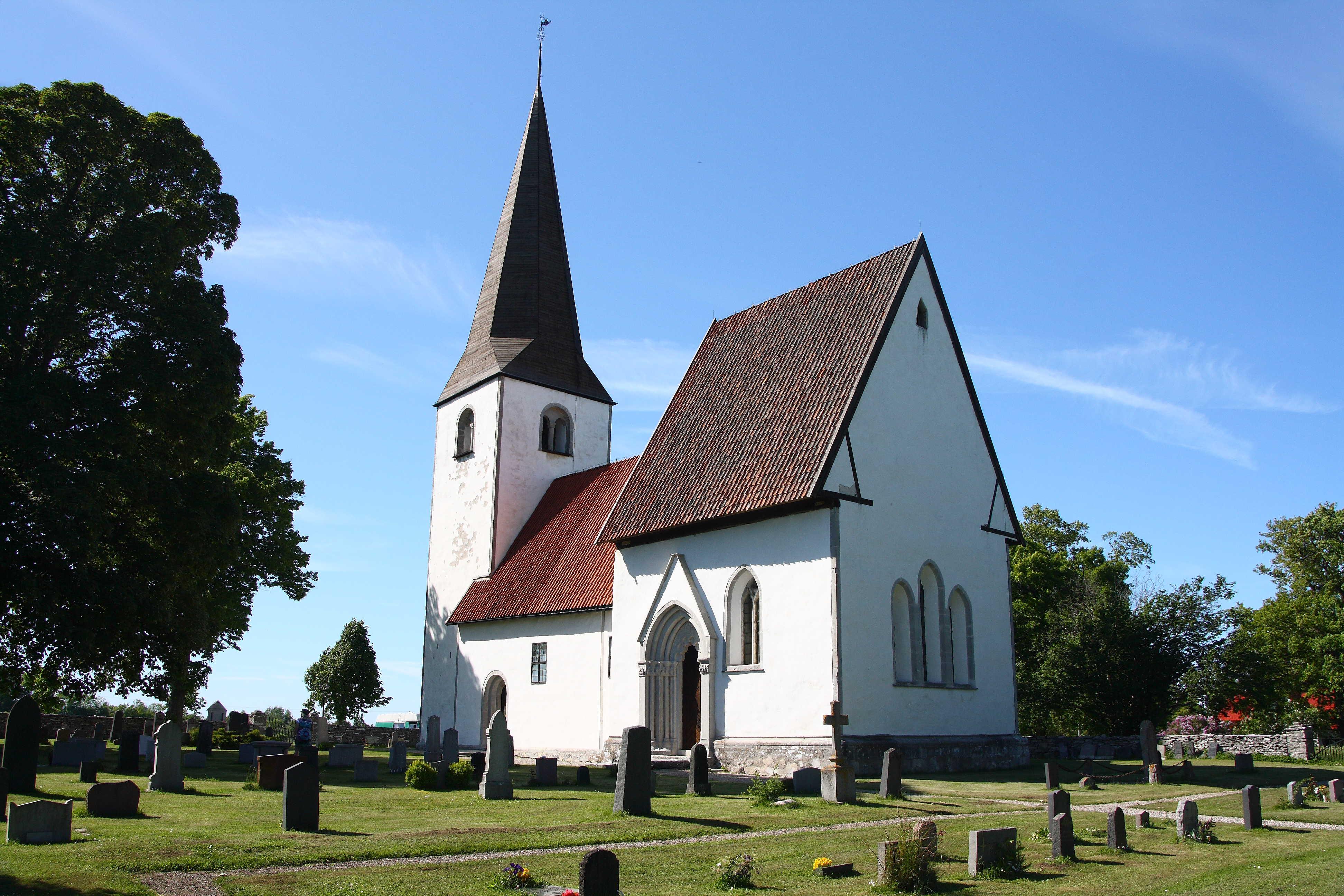 Bild av Lummelunda kyrka