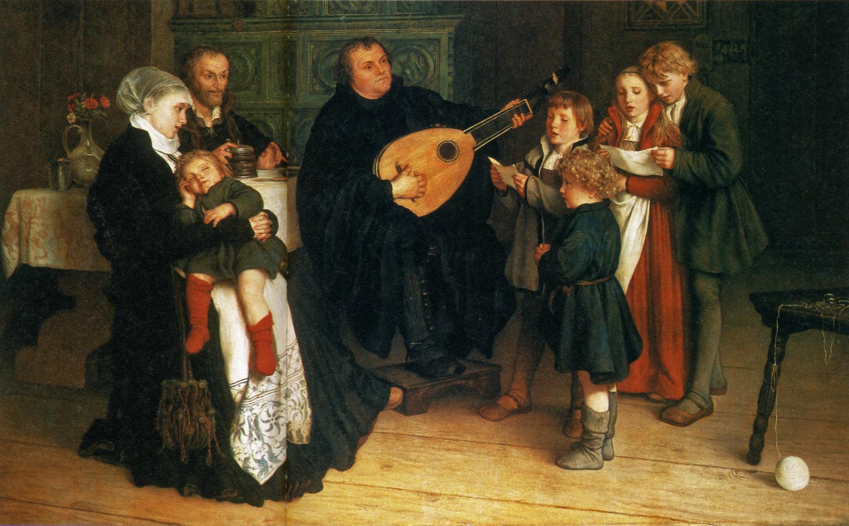 Bildresultat för Gustav Spangenberg Martin Luther