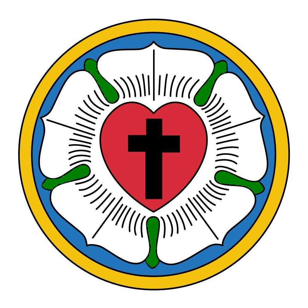 Luther's Seal http://commons.wikimedia.org/wiki/File:Luther_seal.jpg