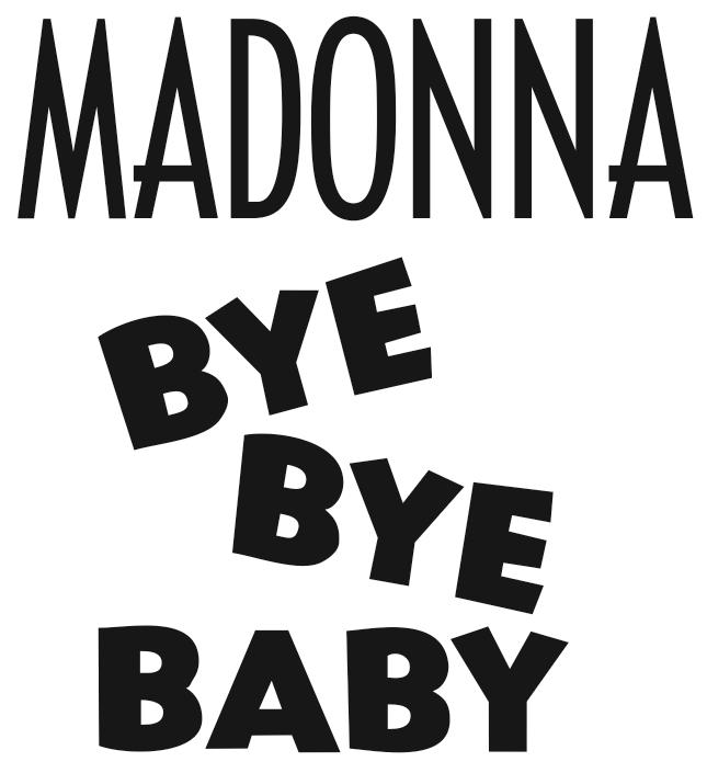 File:Madonna - Bye Bye Baby logo.png