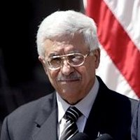 Cropped photo of Prime Minister Mahmoud Abbas'...