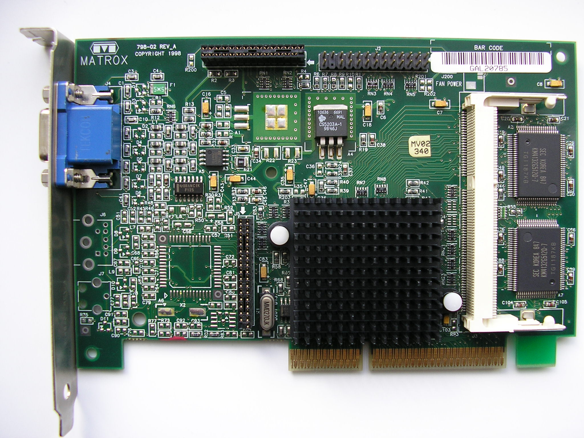 MATROX GRAPHICS MILLENIUM G200 AGP WINDOWS XP DRIVER DOWNLOAD