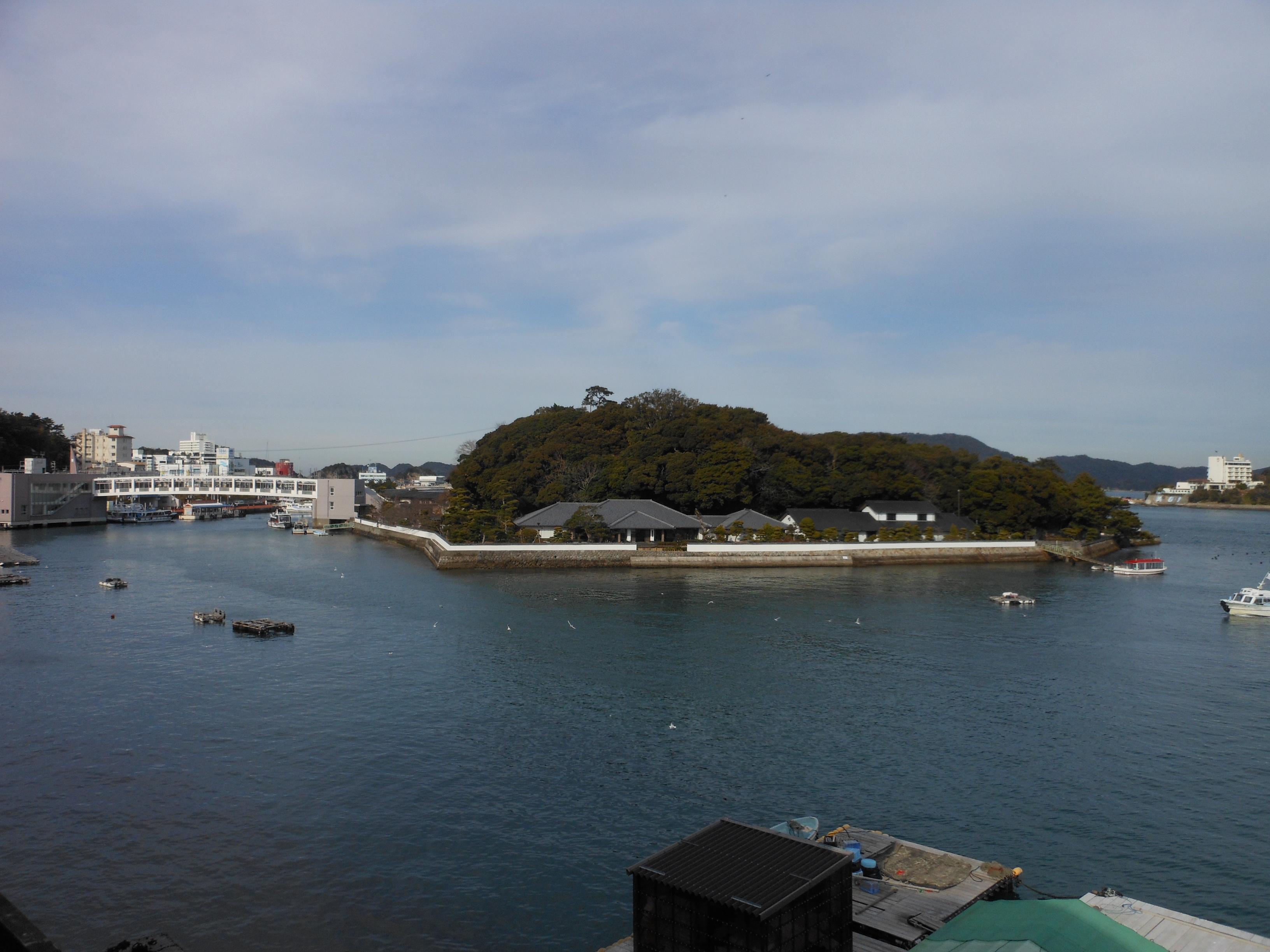 Mikimoto pearl island from toba auqarium