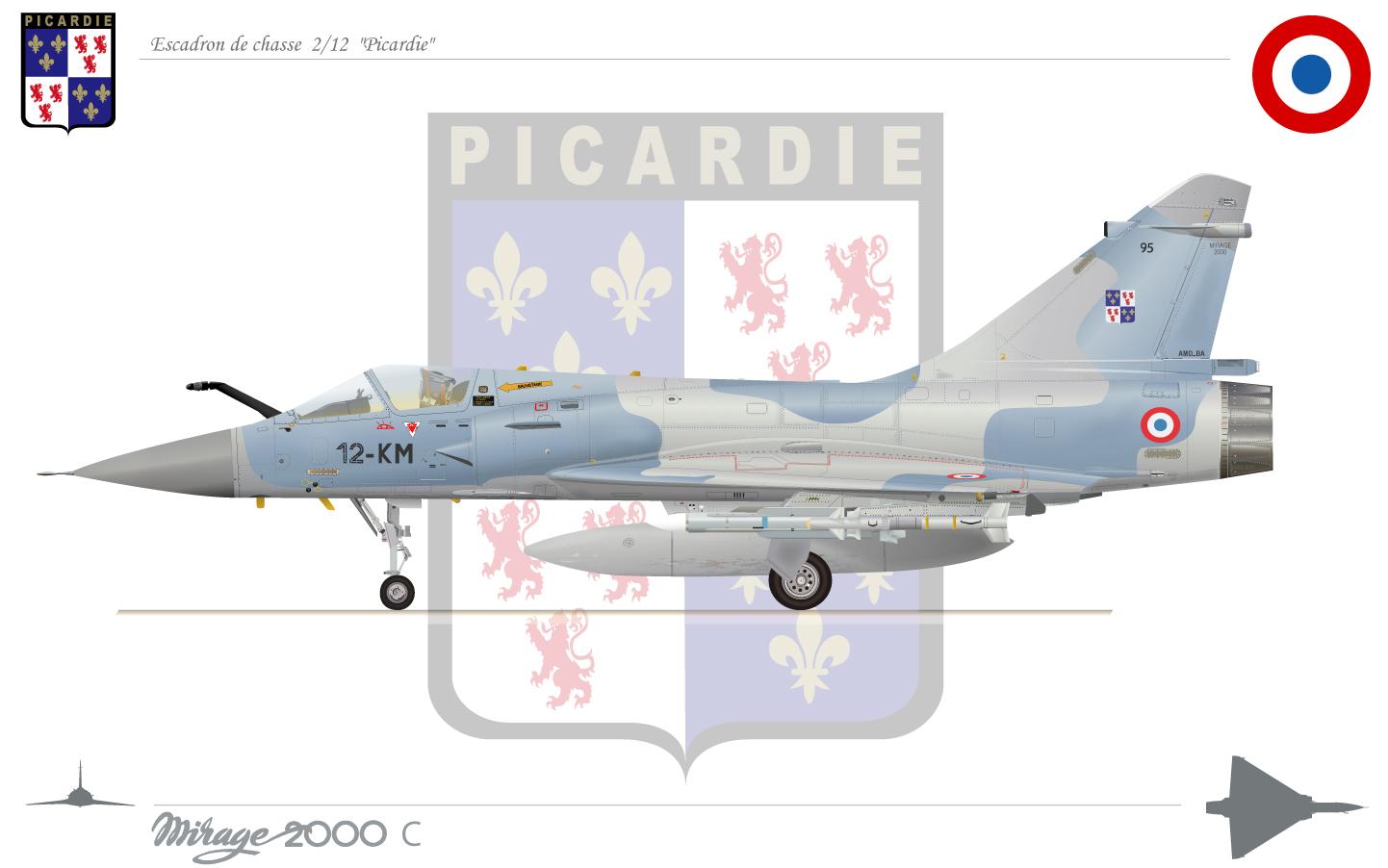 un ch'ti de plus Mirage2000picardie